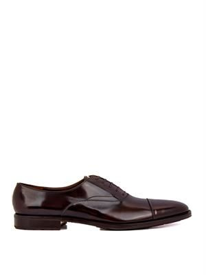 Pean leather oxford shoes