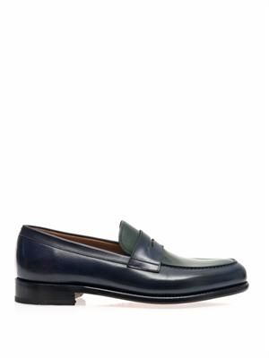 Rinaldo leather loafers