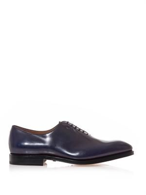 Carmello lace-up leather shoes