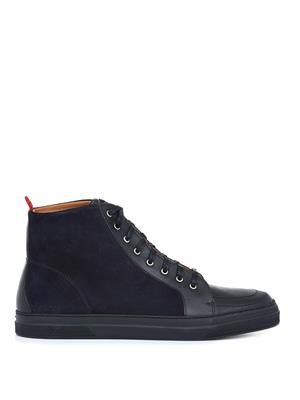 Ambleside high-top trainers