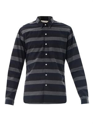 Pocket stripe shirt