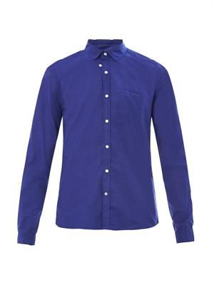 Tab cotton shirt