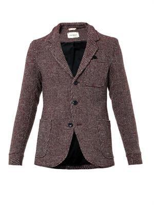 Solms wool tweed blazer