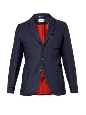 Solms textured-wool blazer