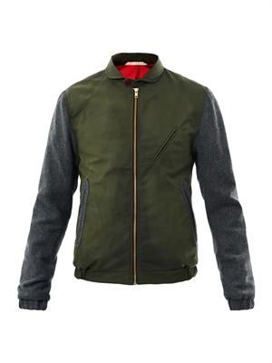 Fisher bomber jacket