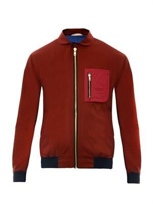 Fisher cotton bomber jacket