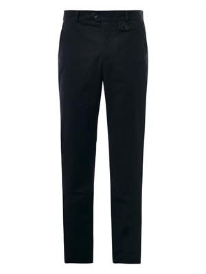 Fishtail chino trousers