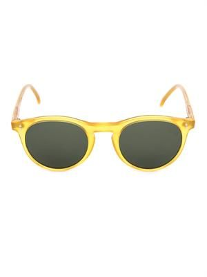 Sid round acetate sunglasses