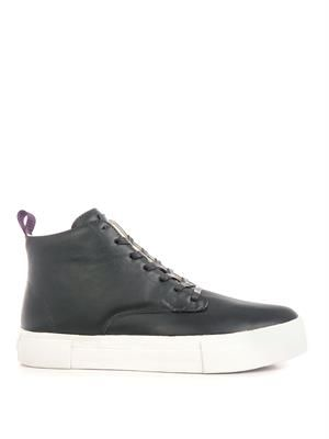 Odyssey leather high-top trainers