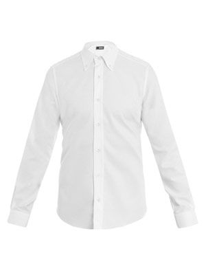 Marcella button-down collar shirt