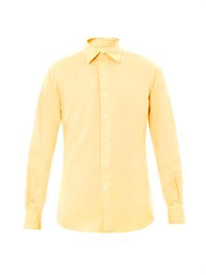 Kurt casual-fit cotton shirt