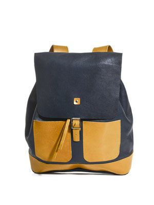 Hunter leather rucksack