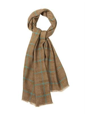 Prince of Wales-check scarf