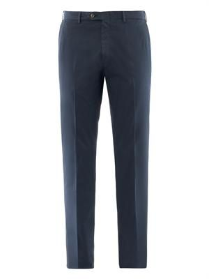 Montana-fit stretch-cotton chinos