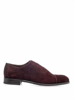 Mark suede oxford shoes