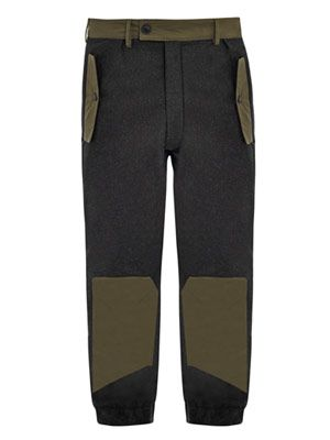 Wool tech trousers