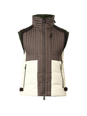 Bretagne quilted down gilet