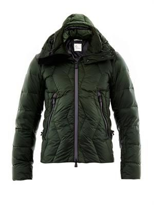 Kangri quilted down jacket