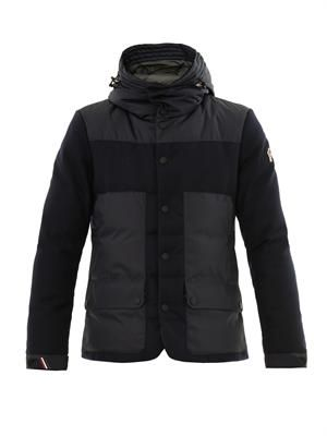 Ferion hooded down jacket
