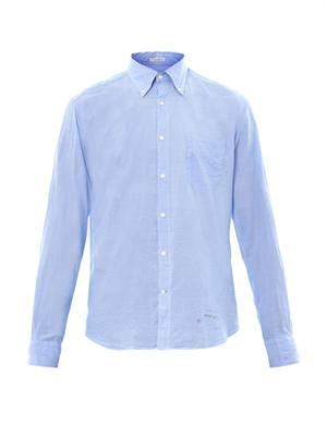 Button-down collar shirt