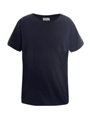 Pocket crew-neck T-shirt