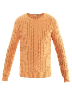 Landing cable-knit sweater