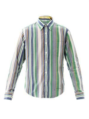 India Madras stripe shirt