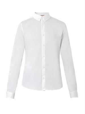 Panel collar shirt