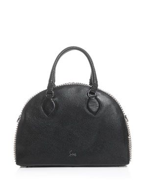 Panettone spiked leather bag