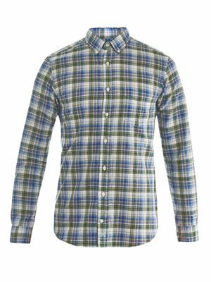 Cambridge check-print shirt
