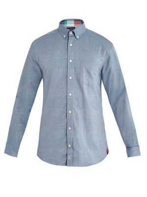 Cambridge check-lined shirt