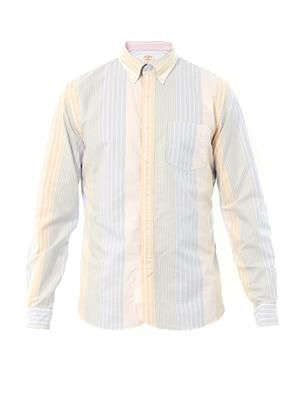 Multi-stripe cotton shirt