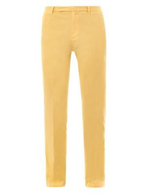 Marco slim straight-leg chinos