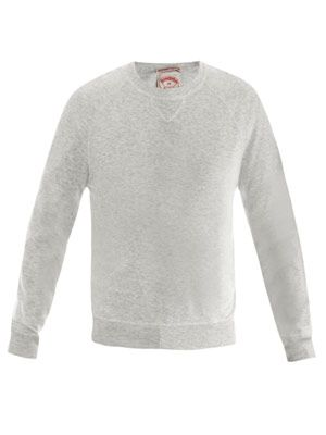 Raglan knitted sweat-top