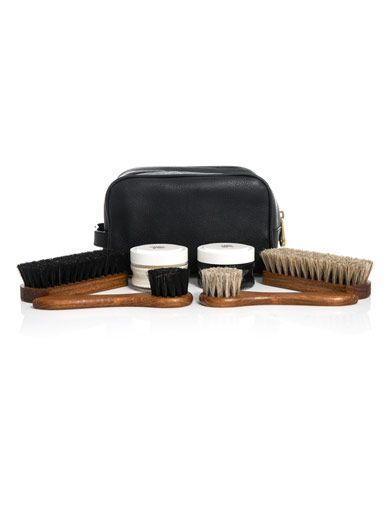 Mulberry Leather shoe care kit