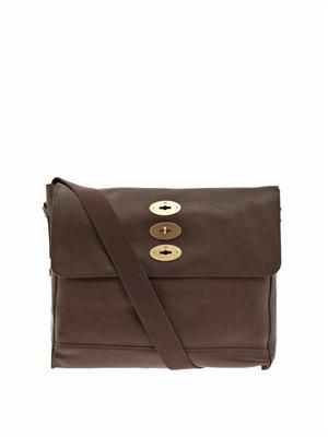 Brynmore leather satchel