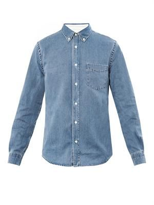 Isherwood bleach denim shirt