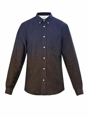 Isherwood dégradé shirt