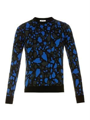Mayer terrazzo-knit sweater