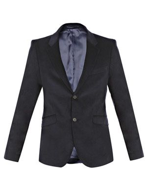 Wall Street corduroy single-breasted jacket
