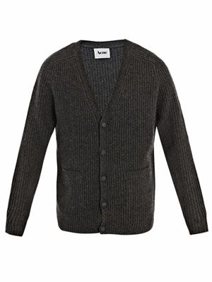 Berger chunky knit cardigan