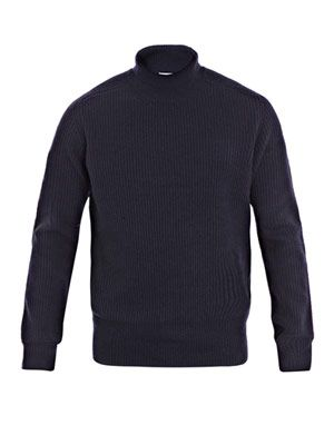 Lester high-neck sweater