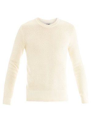 Bubble crew-neck sweater