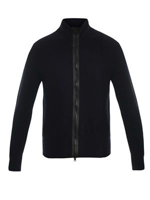 Lester zip-up cardigan