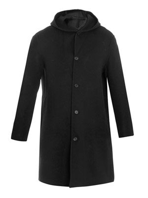 Cervantes hooded coat