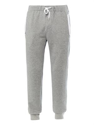 Fred cotton track pants