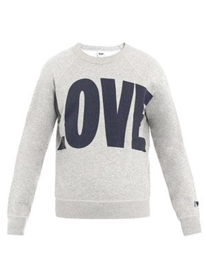College Love sweat top
