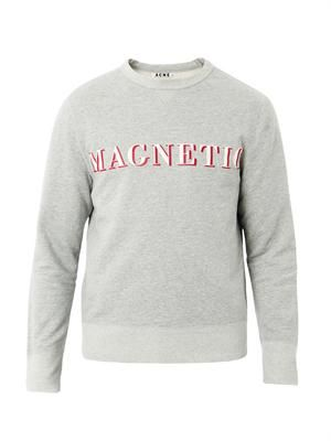 Nick magnetic-print sweatshirt