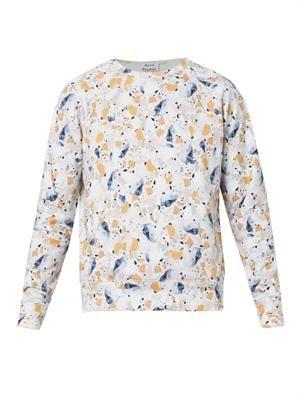 College Terazzo-print sweatshirt