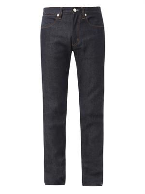Max raw slim-fit denim jeans